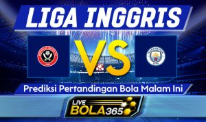 Prediksi Bola Sheffield United vs Manchester City 31 Oktober 2020